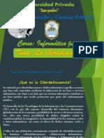 Diapositiva de Ciberdelincuencia