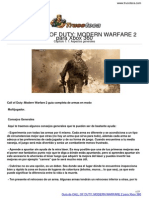 Guia Trucoteca Call of Duty Modern Warfare 2 Xbox 360