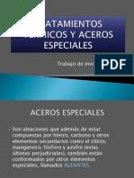TRATAMIENTOS TÉRMICOS Y ACEROS ESPECIALES