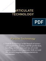 Particulate Technology