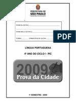 Língua Portuguesa 3º ano SP