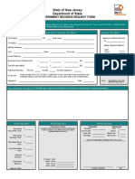 Rockleigh OPRA Request Form
