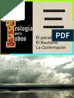 Pecado Original y Bautismo