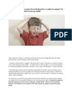 Activitatile Fizice Si Gimnastica Medicala in Autism