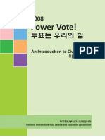 NAKASEC Voter Education Guide Korean