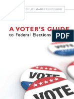 Election Assistance Commission Voter Guide English