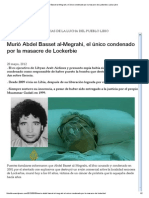 Murió Abdel Basset al-Megrahi- Libia