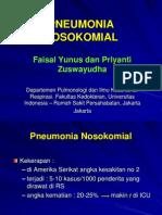 Pneumonia Nosokomial