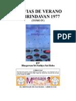 Lluvias de Verano en Brindavan 1977 (IV)