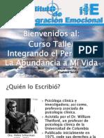 Presentacion Taller Integrando El Perdon y La Abundancia a Mi Vida