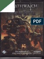 Character pdf deathwatch sheet