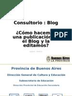 Blog 1 - Cómo hacemos una publicación y la editamos