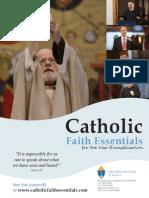 CatholicFaithEssentials 2013-2014 Flyer