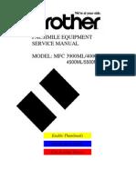 Brother Fax Mfc3900ml-4000ml-4500ml-5500ml-6000ml Parts & Ser