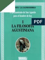 Oroz Galindo - El Pensamento de San Agustin Para El Hombre de Hoy, 01 Filosofia