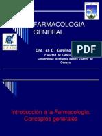 Introducción  a la Farmacología