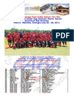 2013 - CABA 16U World Series - Recap