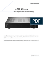 amplifier manual