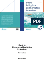 Guide Hygiene Sanitation Aviation 3 Edition Wcov