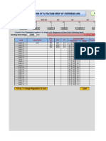 Calculate Voltage Regulation of Line 22.8.12