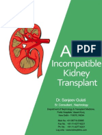 ABO Incompatible Kidney Transplant - Nephrology Doctor Sanjeev Gulati