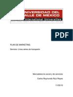 PLAN DE MARKETING SERVICIO LINEA AEREA.docx