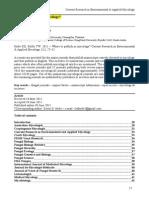Where to Publish Mycology