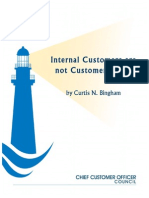 Internal Customers Are Not Customers at All