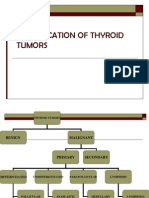 Classifications of Thyroid Tumours