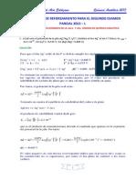 Problemas Resueltos de Reforzamiento II Parcial 2013 - i
