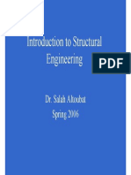 Genera Introduction a Bout Structural Engineering