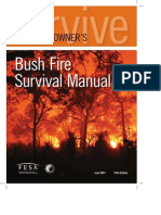 FESA Bushfire-Homeowners Survival Manual