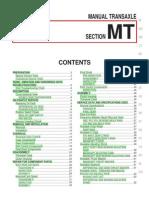 MT - Manual Transaxel