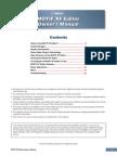 Editor Owner´s Manual