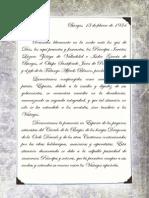 12 - TdC España - Pacto de las Tres Flechas