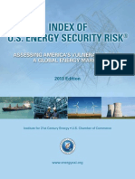 Index of U.S. Energy Security Risk