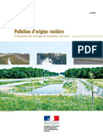 pollution d'origine routière