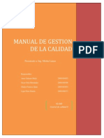 Manual de Gestion de La Calidad MHC (1)
