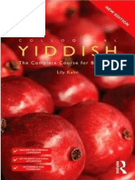 01 Colloquial Yiddish the Complete Course for Beginners