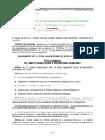 Reglamento Ley Asociaciones Religiosas y Culto Público