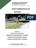 Reglamento de Organizacion y Funciones 2012