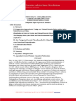 U.S.-China Comparative Security and Foreign Policy Processes