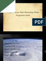 Mitigasi Bencana Alam Meteorologi Melalui Pengamatan Satelit