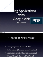 Building Applications with Google APIs