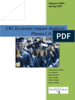 UNC Economic Impact Analysis
