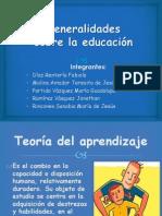 Generalidades sobre la educación (1)