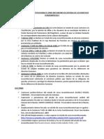 Estado de Cosas Incostitucionales Como Mecanismo de Defensa de Los Derechos Fundamentales
