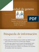 La Equidad de Genero Uriel Anselmo