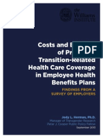 Herman Cost Benefit of Trans Health Benefits Sept 2013