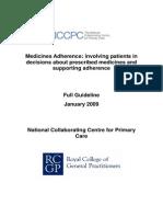 Medicines Adherence Full